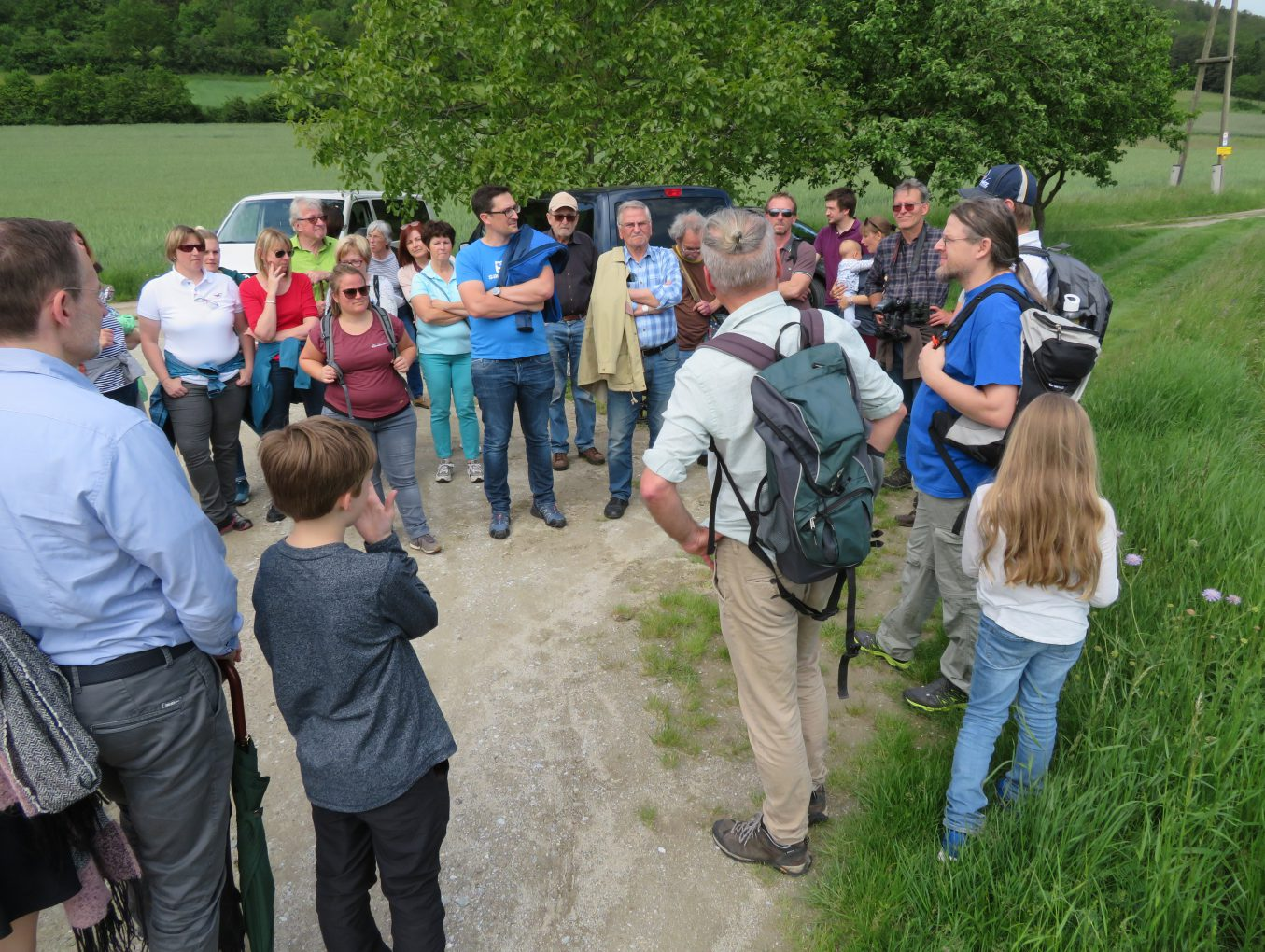 """Vielfalt erleben am Naturlehrpfad """"Rindfleischberg"""""""