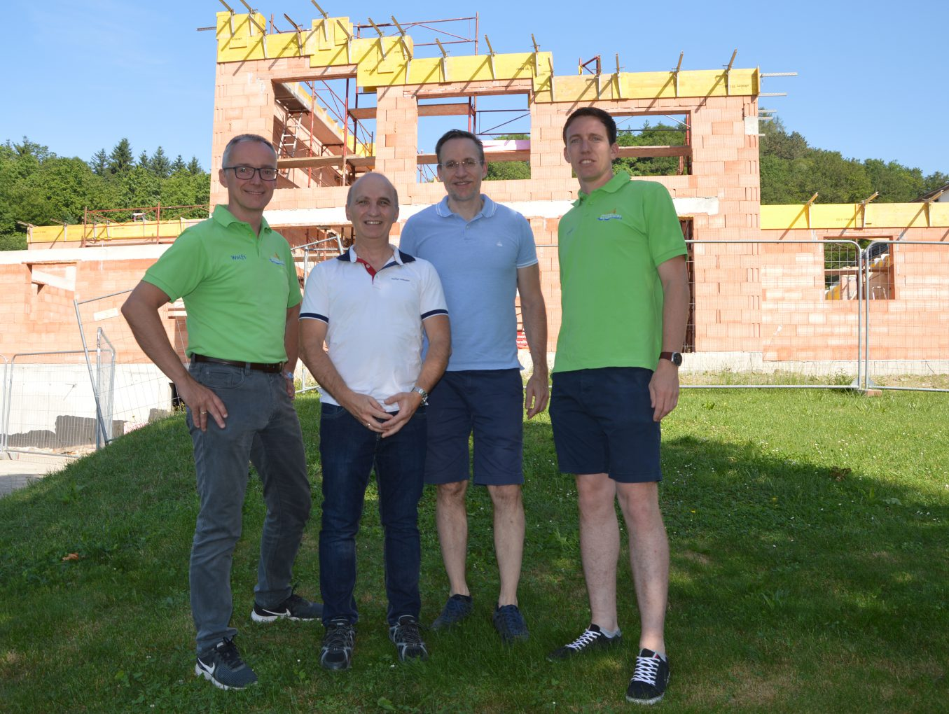 Musikerheim in Marbach nimmt Gestalt an