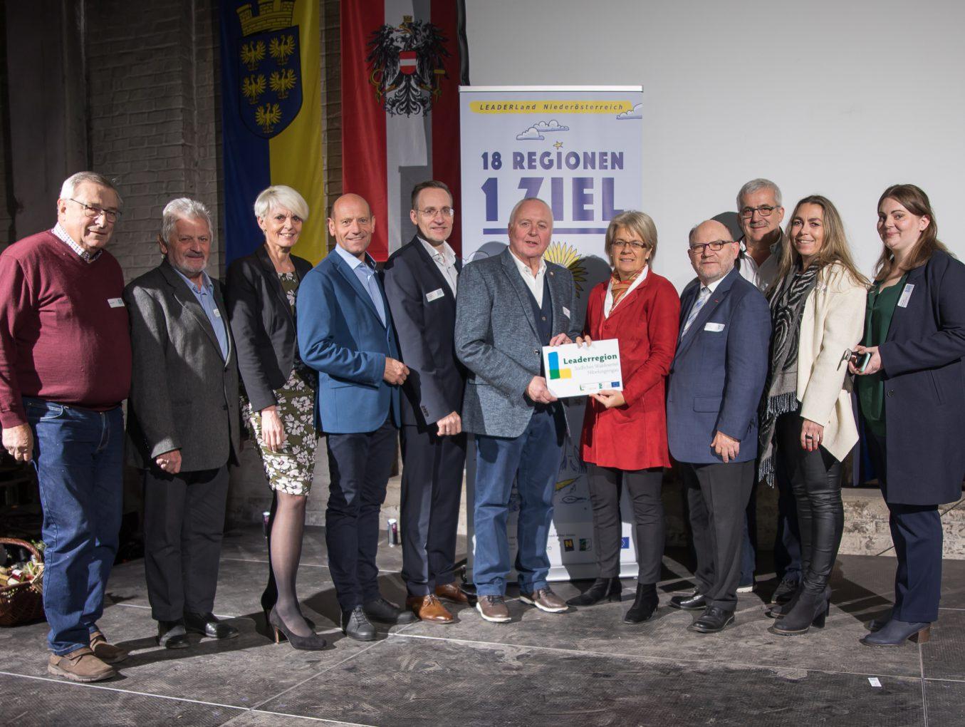 """LEADER-Regionen zogen Bilanz mit """"Fest der 1.000 Projekte"""""""