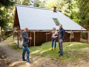 Die Wachtstein-Hütte ist wetterfest